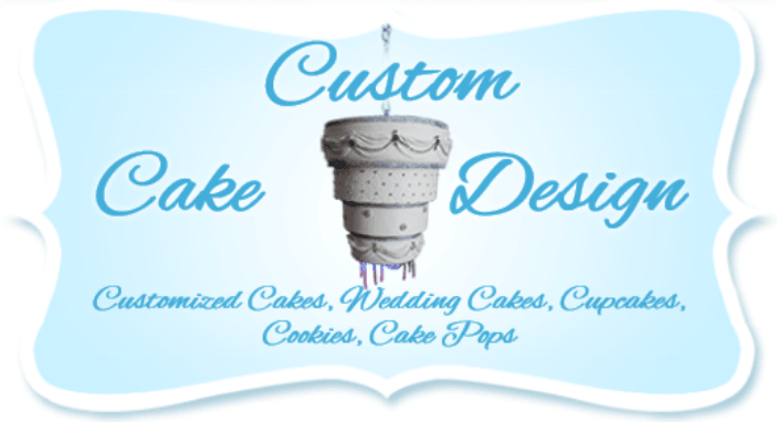 Custom Cake Design logo