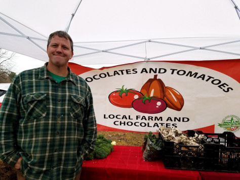 DON'T MISS THE OLNEY FARMERS AND ARTISTS MARKET man-in-story