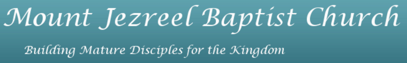 Mount Jezreel Baptist Church logo