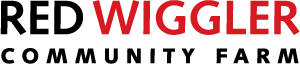 Red Wiggler Community Farm logo